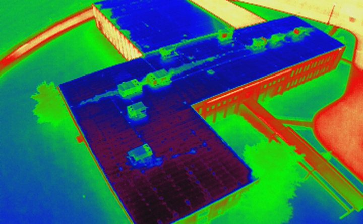 Commercial roofs need infrared imaging