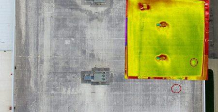 Infrared Roof Leak Detection