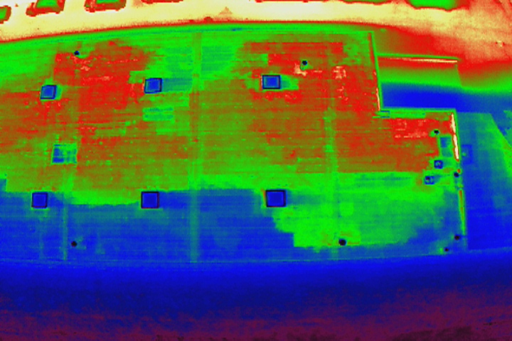 Drone Infrared Imaging